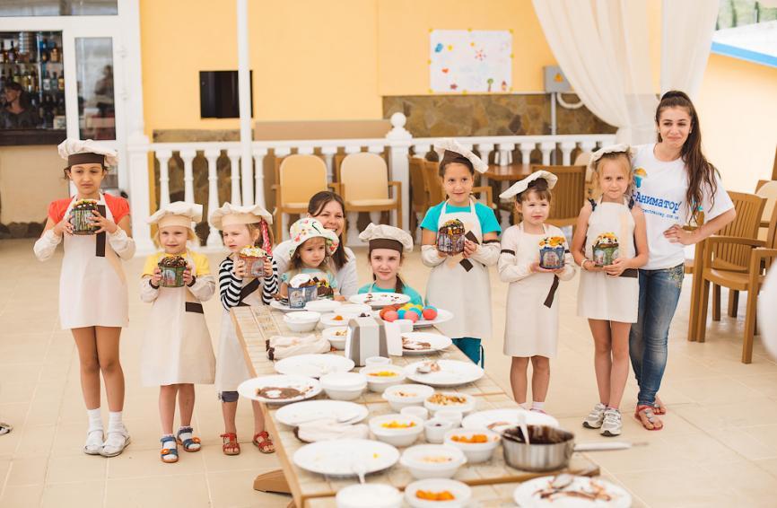 Школа юного повара - Пасха 2013
