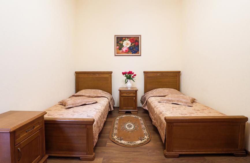 """Тип номера - """"комфорт с двумя кроватями"""", фото"""