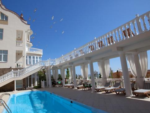 """Wo auf der Krim bleiben? Spa-Hotel """"Irey"""""""